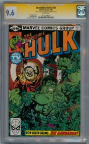 Incredible Hulk #248 CGC 9.6 Signature Series Signed x2 Stan Lee MIchael Golden Marvel comic
